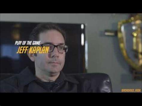Jeff Kaplan Memes - jeff kaplan potg keep em out for harambe game awards 2016 youtube