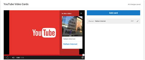 Youtube Gift Card - how to create youtube cards hallam internet
