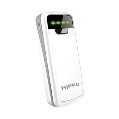 Powerbank Hippo Snow White 5800 Simple Pack Baru Power Bank Terbaru jual berbagai aksesoris handphone hippo harga murah