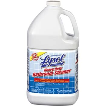 heavy duty bathroom cleaner lysol disinfectant heavy duty bathroom cleaner rec 94201