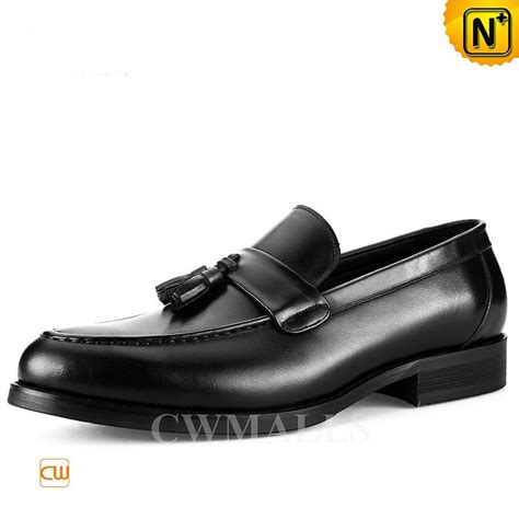 leather tassel loafers cwmalls 174 mens leather tassel loafers cw716038