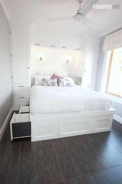smart storage ideas  tiny bedrooms shelterness