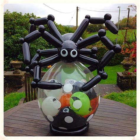 stuffed balloon  scary halloween spider  top