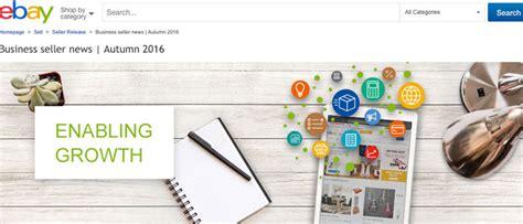 ebay news ebay s autumn 2016 business seller news all positive