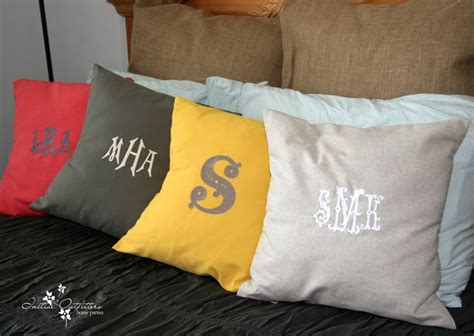 bed scarves and matching pillows reinvest consultants solid monogrammed throw pillows in coral khaki mustard