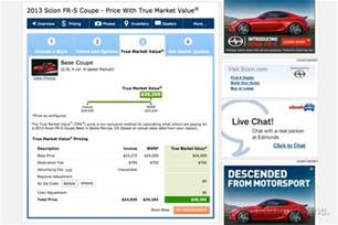 Used Car Values Tmv How To Use Tmv True Market Value Pricing On Edmunds