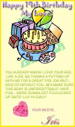 Happy 19th Birthday Quotes Happy 26 Birthday Quotes Quotesgram