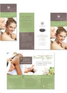 spa brochure templates free 12 amazing spa brochure templates designs free