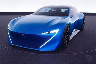 Peugeot Cars Peugeot S Instinct Concept Car Is Its Vision Of An