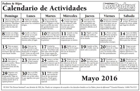 Calendario De Padres Calendario De Consejos Para Padres Parent Pointers