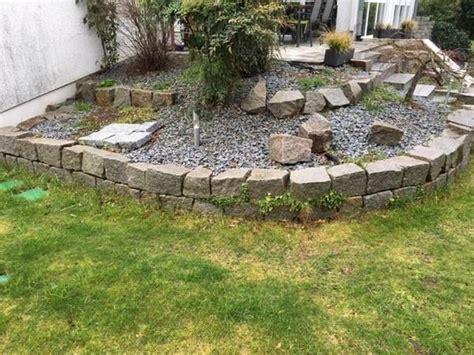 Granitsteine F 252 R Trockenmauer In Graben Neudorf