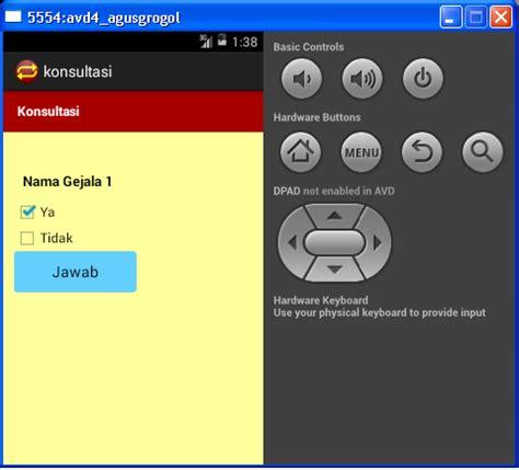 desain database sistem pakar sistem pakar android menggunakan database mysql dengan
