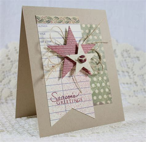 Handmade Holidays - handmade greeting card