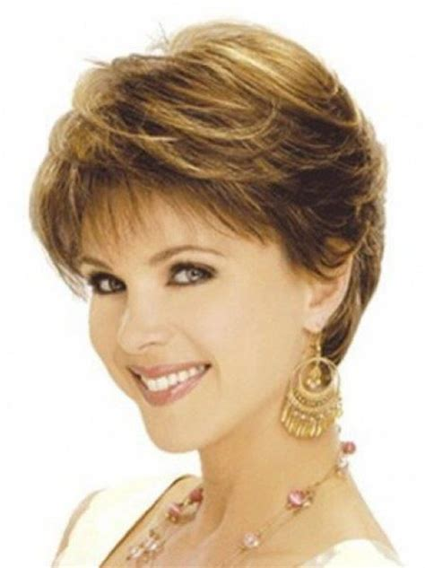 feathered hairstyles for women over 50 short feathered shag hairstyles for older women