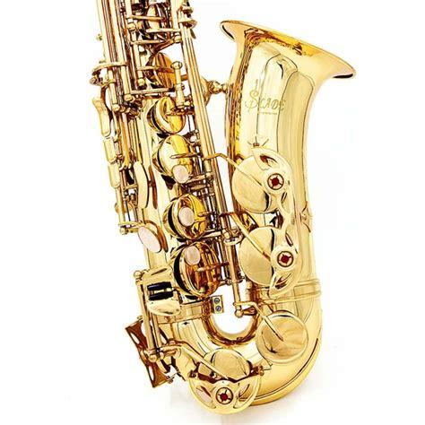 lade corpo lade alto eb saxofone de ouro sax paint gold caso e