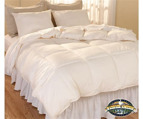organic down comforter natural living luxury down alternative comforter bedding