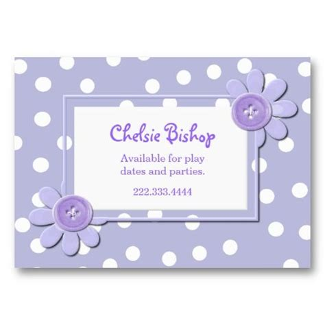 Polka Dot Business Card Templates Free by 1000 Images About Polka Dot Business Cards On