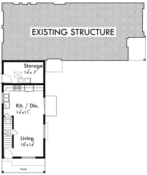adu unit plans adu house plans accessory dwelling unit plans 10137