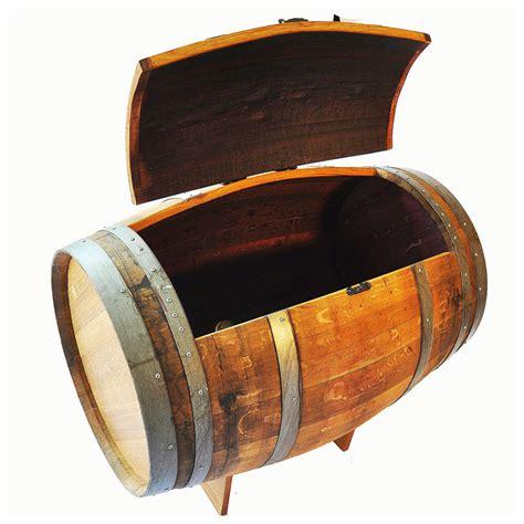Halloween Home Decor Catalogs reclaimed wine barrel ice chest the green head