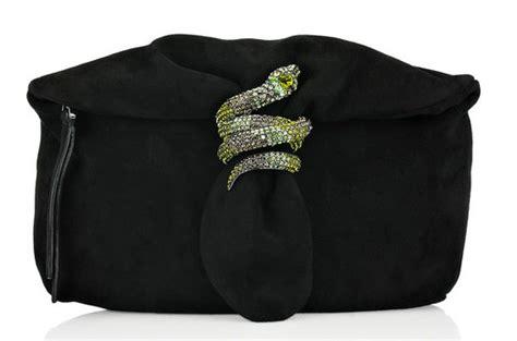 Jimmy Choo Anaconda Clutch by Pay Homage To The Bronx Zoo Cobra With A Jimmy Choo Snake