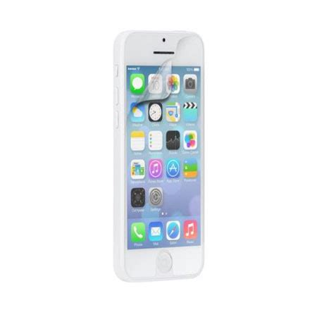 iphone 5c screen protector mate screen protector for apple iphone 5c pack mobilezap australia