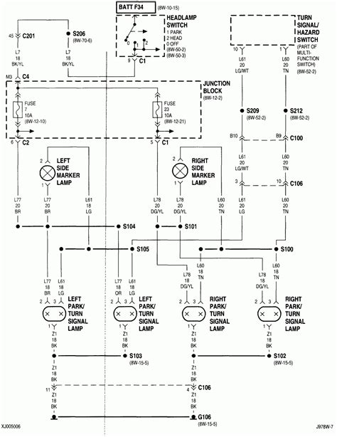 jeep wrangler turn signal wiring diagram wiring diagram