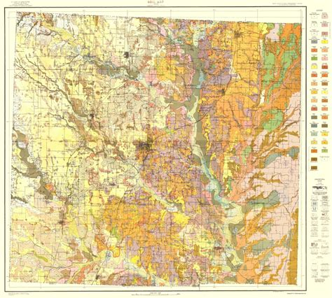 Denton County Civil Search County Maps Denton County Soil Map Tx By Usda 1918