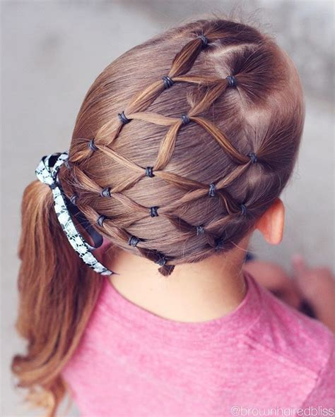 grandma hairstyles halloween elastic spiderweb into a side ponytail with a fun