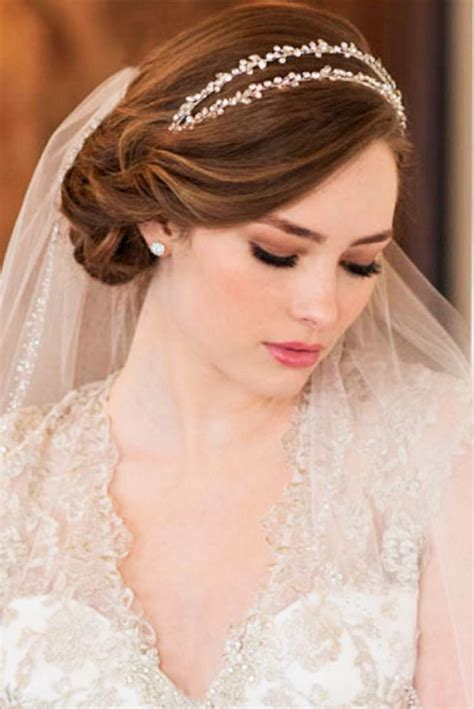36 wedding hairstyles with veil my stylish zoo