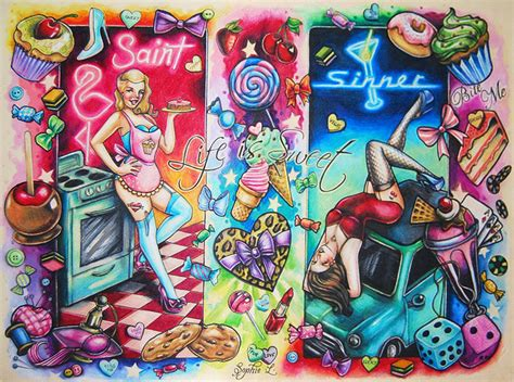 candy sleeve tattoo designs land flash by dollyeyes on deviantart