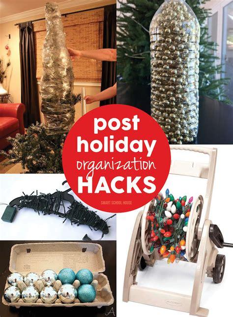 organizing hacks holiday organization hacks