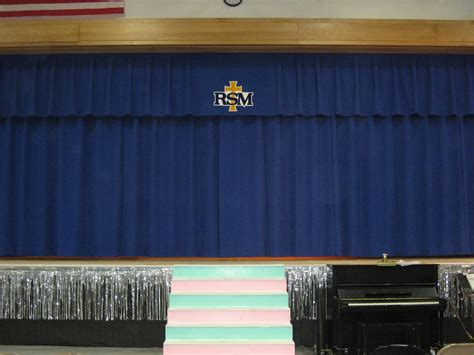 luxout stage curtains window fashions new stage curtains for remsen st mary s