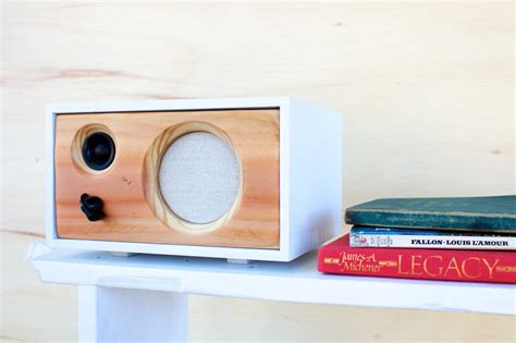 Wireless Desk Speakers new desk wood speaker wireless bluetooth reclaimed wood