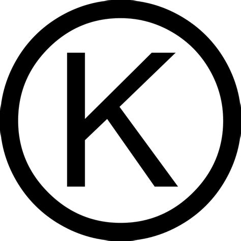 File:Circled latin capital letter k.svg - Wikimedia Commons K
