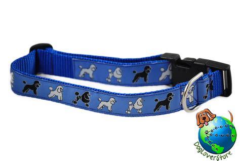 large breed collars poodle breed adjustable collar large 12 20 blue ebay