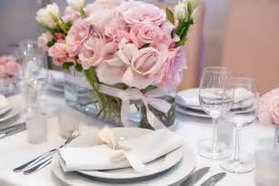 pink wedding decorations with black and silver colors wedding decor style
