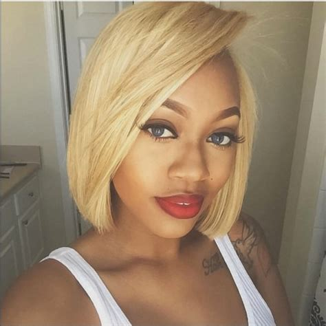 quick weave bobs blonde 15 short weave hairstyles