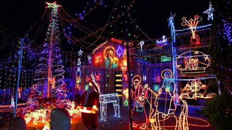 christmas light locations around australia