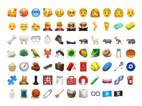 new iphone emojis every new emoji in ios 12 1