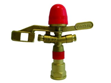 Stop Kranballvalve Pvc Merk Sova 34 vyr 23 met nozzle 4 4 mm stop vyrsa tiksproeiers