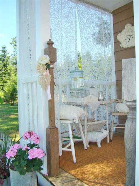 shabby chic porch lake house ideas pinterest