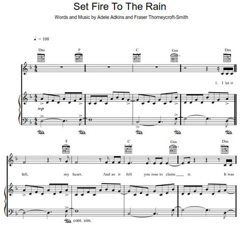 set fire to the rain by adele guitar chords lyrics adele set fire to the rain easy guitar chords