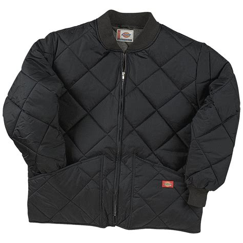 Mens Quilted Work Jackets by Dickies 174 Quilted Work Jacket 421279 Insulated Jackets Coats At Sportsman S Guide