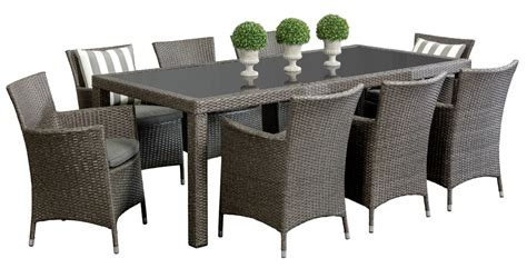 8 seater outdoor dining table wicker outdoor dining sets cuba 8 seater segals
