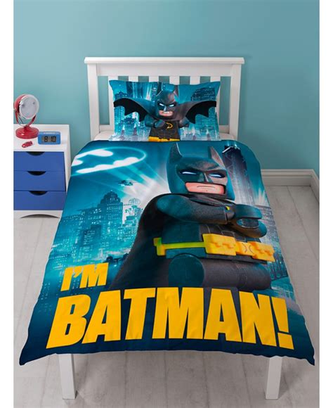 batman bedroom sets this lego batman movie single duvet cover set makes the