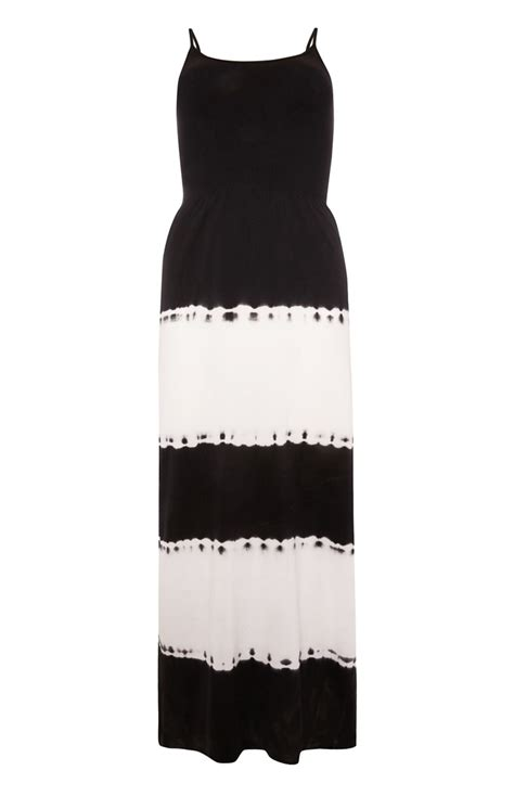 an exceptional and amazing black tie dye maxi for you all