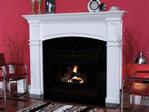 monarch 51 in x 36 in wood fireplace mantel surround