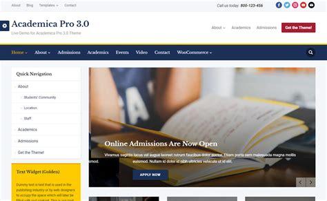 wordpress education themes download download academica pro premium education wordpress theme