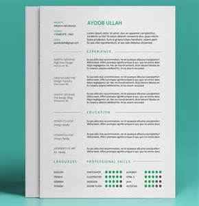 best color for resume top 27 best free resume templates psd ai 2017 colorlib