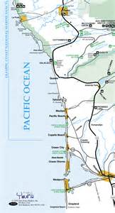 Ocean Shores Washington Map by Ocean Shores Wa Area Map